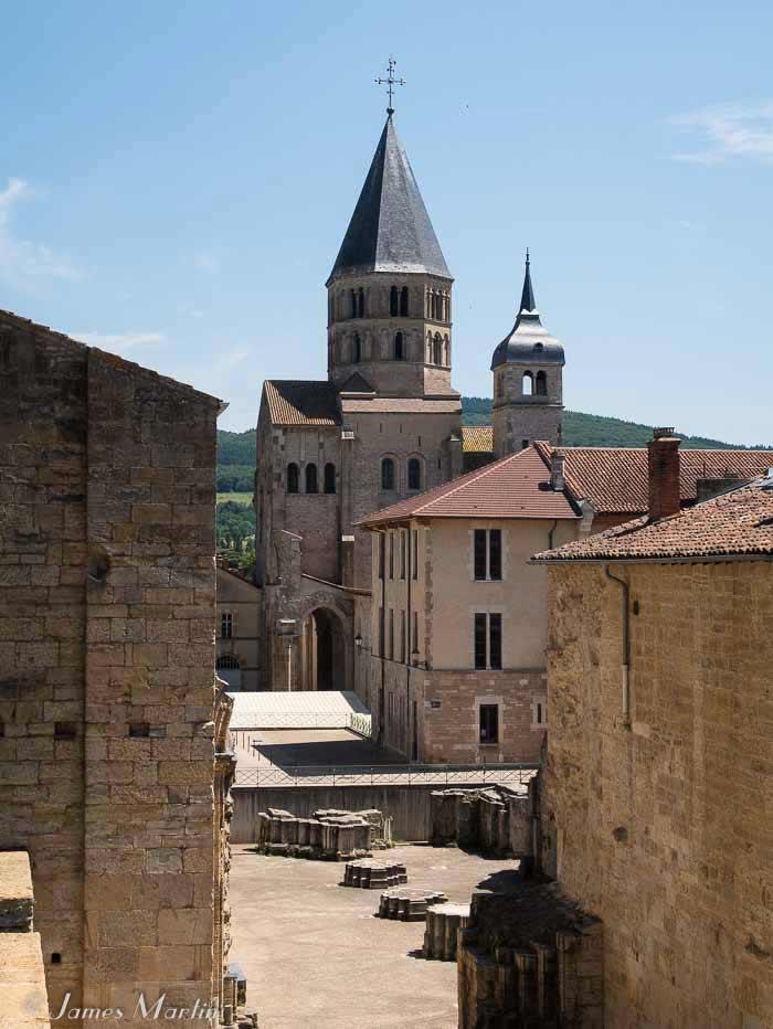 cluny monastery ruins
