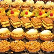 paris, pastries, millefeuilles, christmas