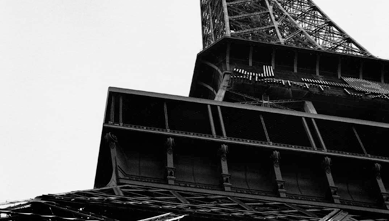 Detail of the Eiffel Tower, photo by Alison Harris, www.alisonharris.com