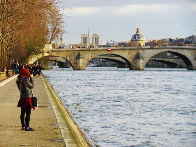 Siene, bridges, tourism, Paris
