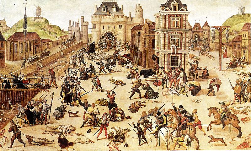 saint bartholomew's day massacre paris