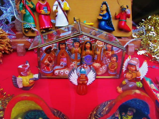 Epiphany Creche in Paris: We are the World