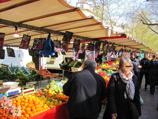 April in Paris Bastille market
